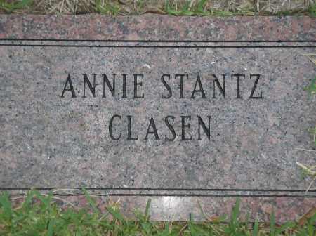 CLASEN, ANNIE - Harris County, Texas | ANNIE CLASEN - Texas Gravestone Photos