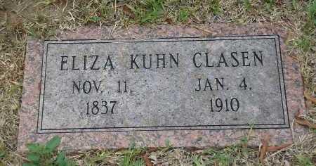 KUHN CLASEN, ELIZA - Harris County, Texas | ELIZA KUHN CLASEN - Texas Gravestone Photos
