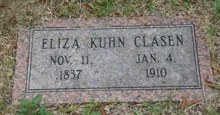 CLASEN, ELIZA - Harris County, Texas | ELIZA CLASEN - Texas Gravestone Photos