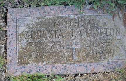 "JONES COMPTON, AUGUSTA ""GUSSIE"" - Harris County, Texas | AUGUSTA ""GUSSIE"" JONES COMPTON - Texas Gravestone Photos"