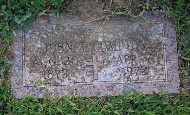 COMPTON, JOHN T - Harris County, Texas | JOHN T COMPTON - Texas Gravestone Photos