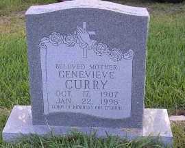 CURRY, GENEVIEVE - Harris County, Texas | GENEVIEVE CURRY - Texas Gravestone Photos