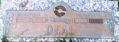 DEAL, MARSHALL A - Harris County, Texas | MARSHALL A DEAL - Texas Gravestone Photos