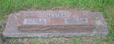 HESTER, SARAH AMELIA - Harris County, Texas | SARAH AMELIA HESTER - Texas Gravestone Photos