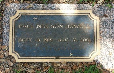 HOWELL, PAUL NEILSON - Harris County, Texas | PAUL NEILSON HOWELL - Texas Gravestone Photos