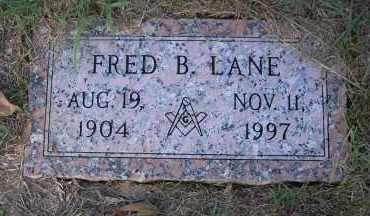 LANE, FRED B - Harris County, Texas | FRED B LANE - Texas Gravestone Photos