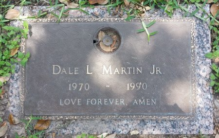 MARTIN, JR., DALE L. - Harris County, Texas | DALE L. MARTIN, JR. - Texas Gravestone Photos