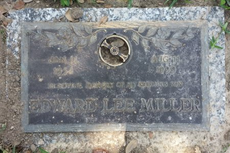 MILLER, EDWARD LEE - Harris County, Texas | EDWARD LEE MILLER - Texas Gravestone Photos