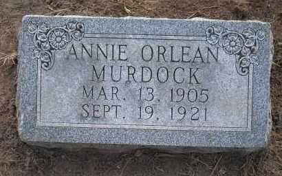 MURDOCK, ANNIE ORLEAN - Harris County, Texas | ANNIE ORLEAN MURDOCK - Texas Gravestone Photos