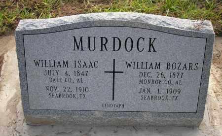 "MURDOCK, WILLIAM ISAAC ""BILLY"" - Harris County, Texas | WILLIAM ISAAC ""BILLY"" MURDOCK - Texas Gravestone Photos"