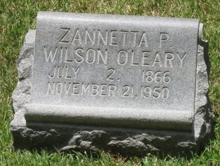 O'LEARY, ZANNETTA P. - Harris County, Texas | ZANNETTA P. O'LEARY - Texas Gravestone Photos