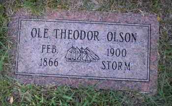 OLSON, OLE THEODOR - Harris County, Texas | OLE THEODOR OLSON - Texas Gravestone Photos