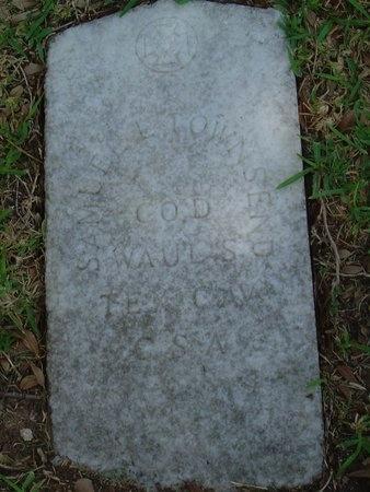 TOWNSEND (VETERAN CSA), SAMULE LUCKY - Harris County, Texas | SAMULE LUCKY TOWNSEND (VETERAN CSA) - Texas Gravestone Photos