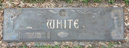 WHITE, OSWALD HARDING - Harris County, Texas   OSWALD HARDING WHITE - Texas Gravestone Photos