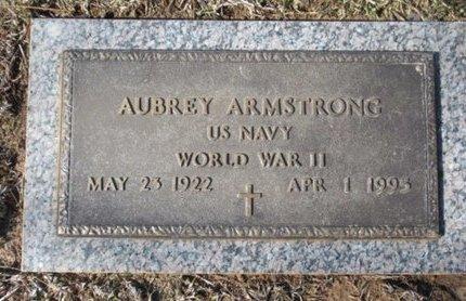 ARMSTRONG (VETERAN WWII), AUBREY - Harrison County, Texas | AUBREY ARMSTRONG (VETERAN WWII) - Texas Gravestone Photos