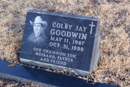 GOODWIN, COLBY JAY - Hartley County, Texas | COLBY JAY GOODWIN - Texas Gravestone Photos