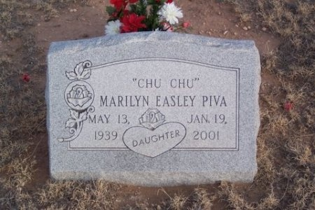 EASLEY PIVA, MARILYN - Hartley County, Texas | MARILYN EASLEY PIVA - Texas Gravestone Photos