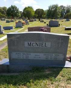 MCNIEL, FRANCES - Hays County, Texas | FRANCES MCNIEL - Texas Gravestone Photos