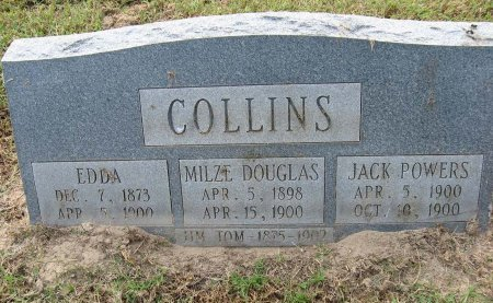 DERDEN COLLINS, EDDA - Henderson County, Texas | EDDA DERDEN COLLINS - Texas Gravestone Photos