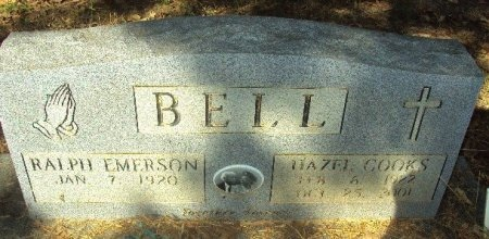 BELL, RALPH EMERSON - Henderson County, Texas | RALPH EMERSON BELL - Texas Gravestone Photos