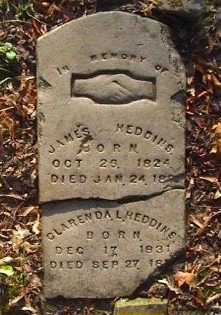 HEDDINS, JAMES - Henderson County, Texas | JAMES HEDDINS - Texas Gravestone Photos