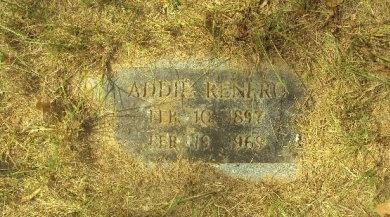 RENFRO, ADDIE - Henderson County, Texas | ADDIE RENFRO - Texas Gravestone Photos