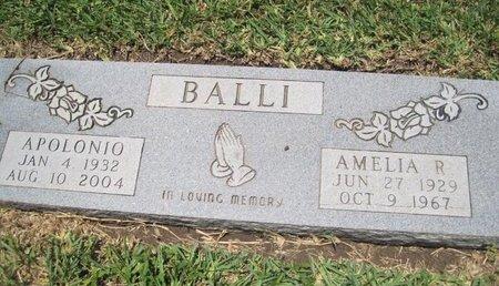 BALLI, APOLONIO - Hidalgo County, Texas | APOLONIO BALLI - Texas Gravestone Photos