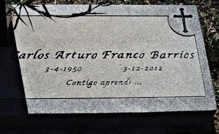 BARRIOS, CARLOS ARTURO FRANCO - Hidalgo County, Texas | CARLOS ARTURO FRANCO BARRIOS - Texas Gravestone Photos