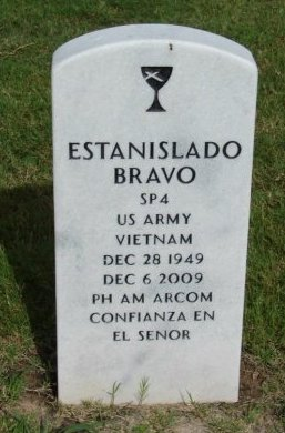 BRAVO (VETERAN VIET), ESTANISLADO - Hidalgo County, Texas   ESTANISLADO BRAVO (VETERAN VIET) - Texas Gravestone Photos