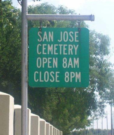 *CEMETERY SIGN,  - Hidalgo County, Texas    *CEMETERY SIGN - Texas Gravestone Photos