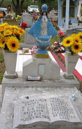 CHAVEZ, ALBINA - Hidalgo County, Texas | ALBINA CHAVEZ - Texas Gravestone Photos
