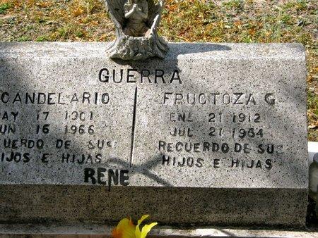 GUERRA, FRUCTOZA G. - Hidalgo County, Texas | FRUCTOZA G. GUERRA - Texas Gravestone Photos