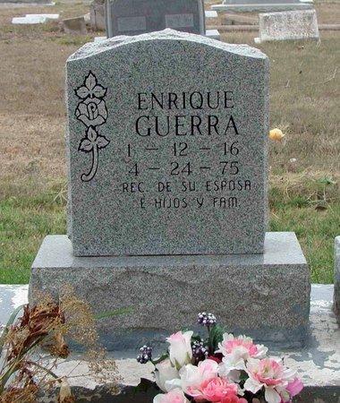 GUERRA, ENRIQUE - Hidalgo County, Texas | ENRIQUE GUERRA - Texas Gravestone Photos
