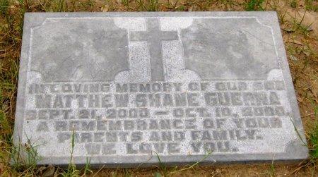 GUERRA, MATTHEW SHANE - Hidalgo County, Texas   MATTHEW SHANE GUERRA - Texas Gravestone Photos