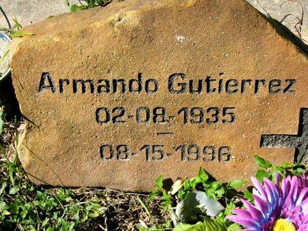 GUTIERREZ, ARMANDO - Hidalgo County, Texas | ARMANDO GUTIERREZ - Texas Gravestone Photos