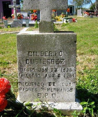 GUTIERREZ, GILBERTO - Hidalgo County, Texas | GILBERTO GUTIERREZ - Texas Gravestone Photos