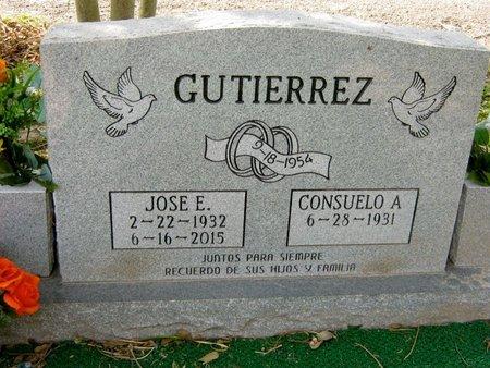 GUTIERREZ, JOSE E. - Hidalgo County, Texas | JOSE E. GUTIERREZ - Texas Gravestone Photos
