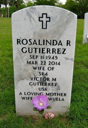 GUTIERREZ, ROSALINDA R - Hidalgo County, Texas | ROSALINDA R GUTIERREZ - Texas Gravestone Photos