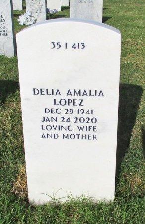 LOPEZ, DELIA AMALIA - Hidalgo County, Texas   DELIA AMALIA LOPEZ - Texas Gravestone Photos