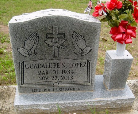 LOPEZ, GUADALUPE S. - Hidalgo County, Texas | GUADALUPE S. LOPEZ - Texas Gravestone Photos