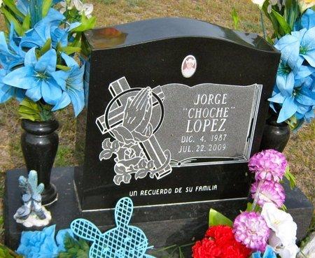 "LOPEZ, JORGE ""CHOCHE"" - Hidalgo County, Texas   JORGE ""CHOCHE"" LOPEZ - Texas Gravestone Photos"