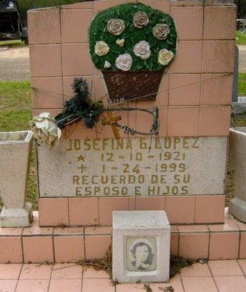LOPEZ, JOSEFINA G. - Hidalgo County, Texas | JOSEFINA G. LOPEZ - Texas Gravestone Photos