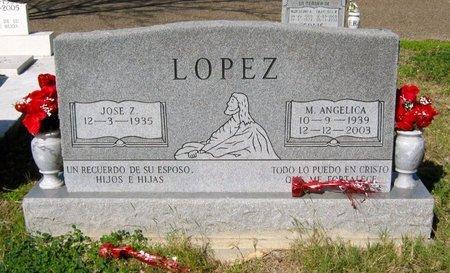 LOPEZ, M. ANGELICA - Hidalgo County, Texas   M. ANGELICA LOPEZ - Texas Gravestone Photos