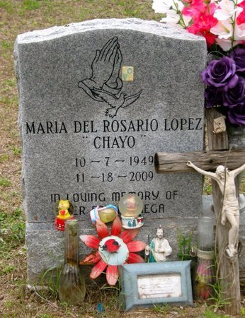 LOPEZ, MARIA DEL ROSARIO - Hidalgo County, Texas | MARIA DEL ROSARIO LOPEZ - Texas Gravestone Photos