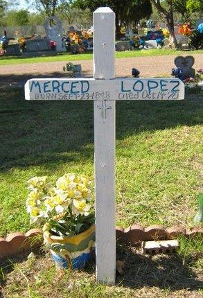 LOPEZ, MERCED - Hidalgo County, Texas | MERCED LOPEZ - Texas Gravestone Photos