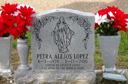 LOPEZ, PETRA - Hidalgo County, Texas | PETRA LOPEZ - Texas Gravestone Photos