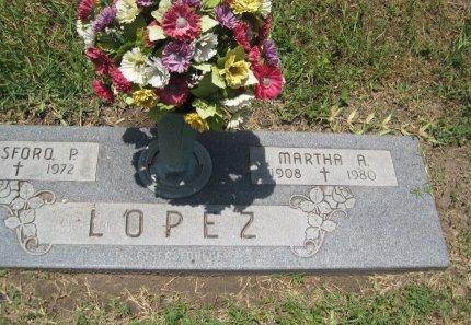 LOPEZ, MARTHA A. - Hidalgo County, Texas | MARTHA A. LOPEZ - Texas Gravestone Photos