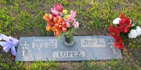 LOPEZ, VALENTIN O. - Hidalgo County, Texas | VALENTIN O. LOPEZ - Texas Gravestone Photos