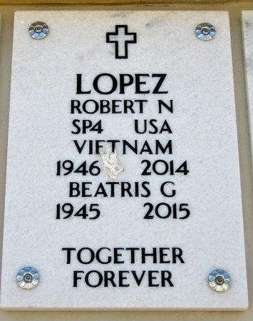 LOPEZ, BEATRIS G - Hidalgo County, Texas | BEATRIS G LOPEZ - Texas Gravestone Photos