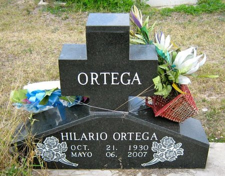ORTEGA, HILARIO - Hidalgo County, Texas   HILARIO ORTEGA - Texas Gravestone Photos